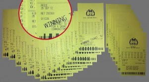 Ken Silver's Fake Winning Lottery Tickets
